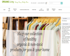 Organic Living Cart Solution
